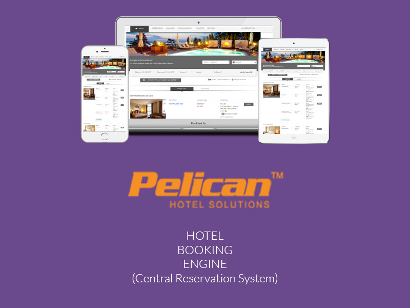 Pelican Hotel Booking Engine - Central Reservation System